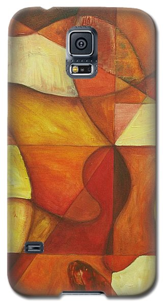 Galaxy S5 Case featuring the painting It's Mine For Awhile by Rick Ahlvers