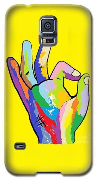 It's Ok Galaxy S5 Case by Eloise Schneider