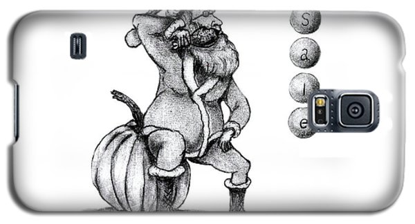 Galaxy S5 Case featuring the drawing It's Sale Time by Edwin Alverio