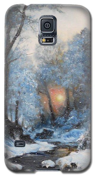 It's Winter Galaxy S5 Case by Sorin Apostolescu
