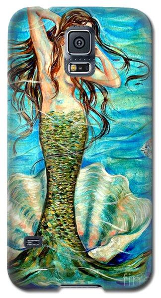 Ivana Galaxy S5 Case by Linda Olsen