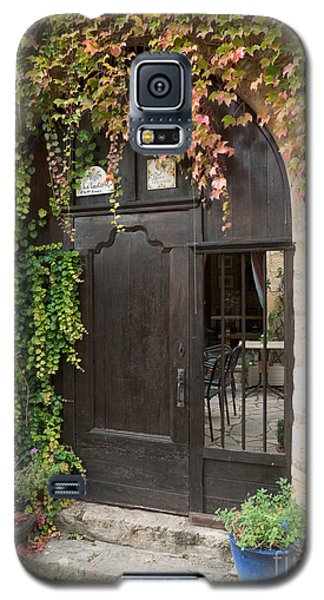 Ivy Covered Doorway Galaxy S5 Case by Paul Topp
