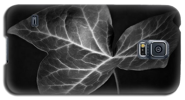 Black And White Flowers Macro Photography Art Work Galaxy S5 Case