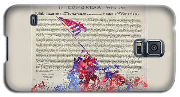 Iwo Jima Declaration Of Freedom Galaxy S5 Case