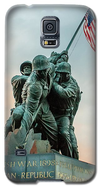 Iwo Jima Memorial Galaxy S5 Case by Dawn Romine