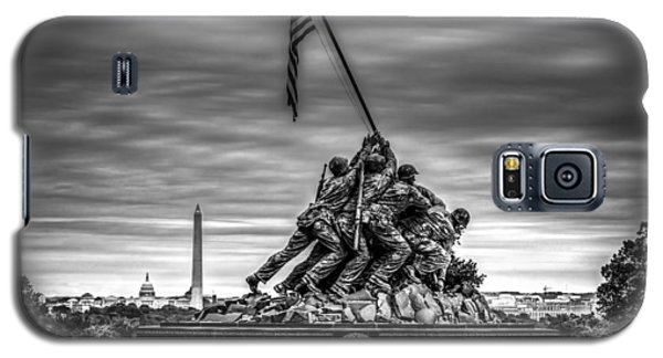 Iwo Jima Monument Black And White Galaxy S5 Case