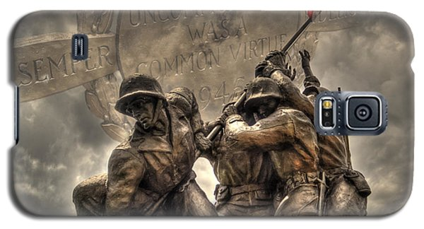 Galaxy S5 Case featuring the photograph Iwo Jima by Timothy Lowry