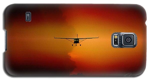 Jabiru Sunset Galaxy S5 Case