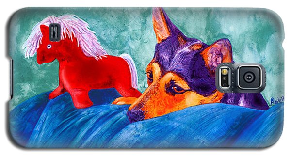 Jack And Red Horse Galaxy S5 Case