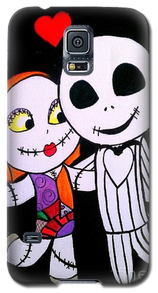 Jack And Sally Galaxy S5 Case by Marisela Mungia