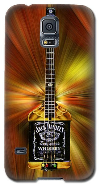 Jack Daniels Whiskey Guitar Galaxy S5 Case
