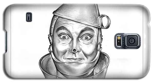 Wizard Galaxy S5 Case - Jack Haley As The Tin Man by Greg Joens
