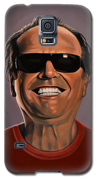 Jack Nicholson 2 Galaxy S5 Case by Paul Meijering