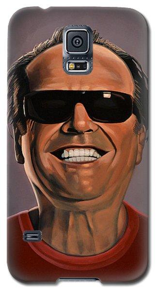 Jack Nicholson 2 Galaxy S5 Case by Paul Meijering