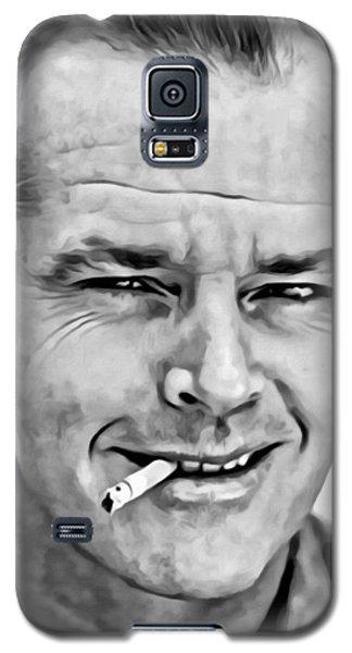Jack Nicholson Galaxy S5 Case by Florian Rodarte