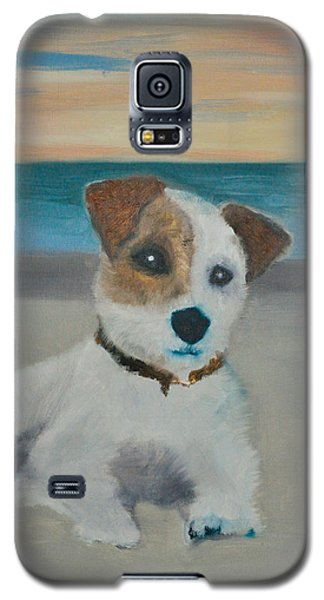 Jack On The Beach Galaxy S5 Case