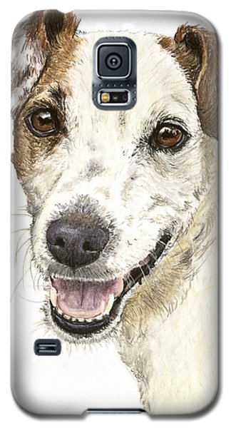 Jack Russell Terrier Portrait Galaxy S5 Case