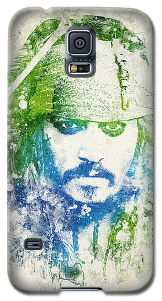 Johnny Depp Galaxy S5 Case - Jack Sparrow by Aged Pixel