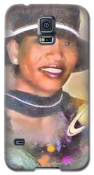 Jackie Galaxy S5 Case by Wayne Pascall