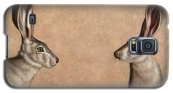 Rabbit Galaxy S5 Case - Jackrabbits by James W Johnson