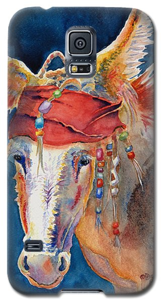 Johnny Depp Galaxy S5 Case - Jack Burro -  Donkey by Deb  Harclerode