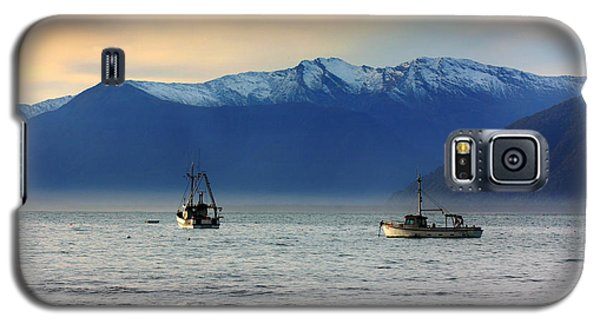 Galaxy S5 Case featuring the photograph Jackson Bay South Westland New Zealand by Amanda Stadther