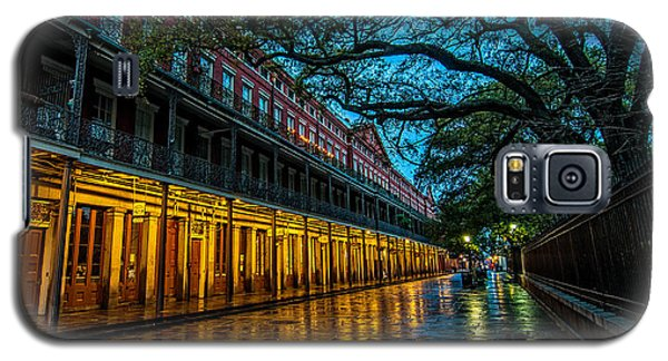 Jackson Square At Dawn Galaxy S5 Case by Andy Crawford
