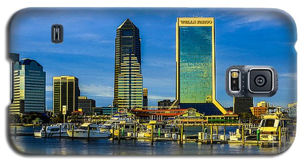 Jacksonville Skyline Sunset Galaxy S5 Case by Paula Porterfield-Izzo