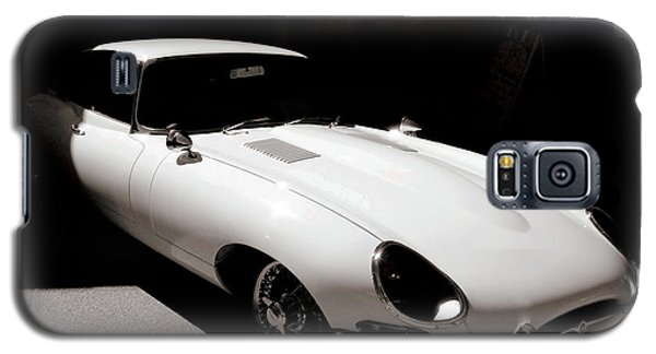 Jaguar E-type Coupe Galaxy S5 Case by Bob Wall