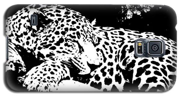 Jaguar In Reverse Galaxy S5 Case by Teresa Blanton