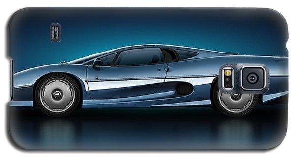 Jaguar Xj220 - Azure Galaxy S5 Case