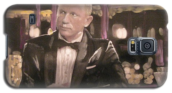James Bond Skyfall Galaxy S5 Case by Vikram Singh