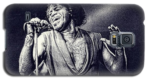 James Brown On Stage Galaxy S5 Case by Maciek Froncisz