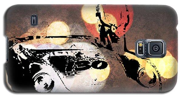 James Dean And Little Bastard Galaxy S5 Case