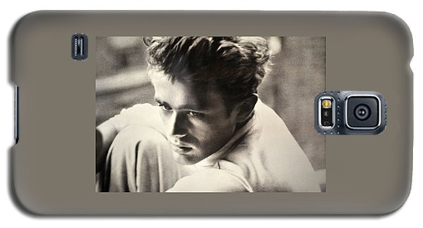 James Dean Black And White Galaxy S5 Case by Jay Milo