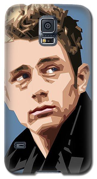 James Dean In Color Galaxy S5 Case by Douglas Simonson
