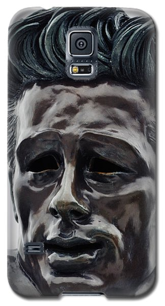 Galaxy S5 Case featuring the photograph James Dean The Rebel by Kyle Hanson