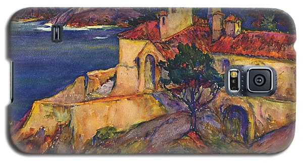 James House Carmel Highlands California By Rowena Meeks Abdy 1887-1945  Galaxy S5 Case by California Views Mr Pat Hathaway Archives