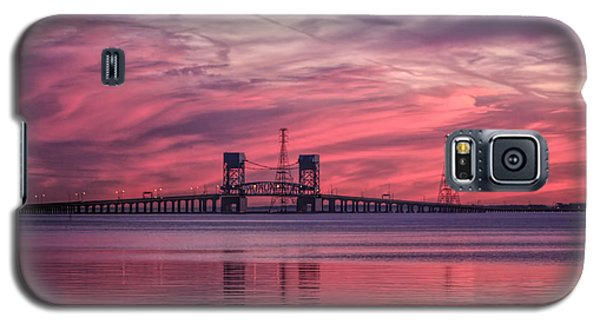 James River Bridge At Sunset Galaxy S5 Case