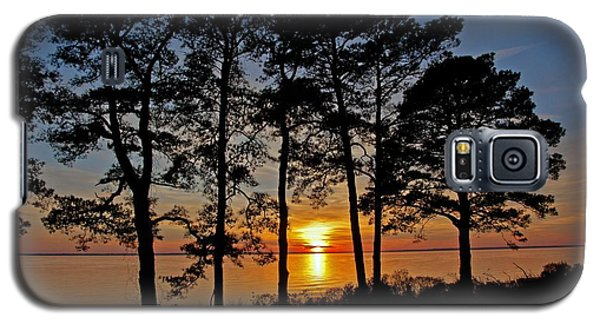 James River Sunset Galaxy S5 Case by Suzanne Stout
