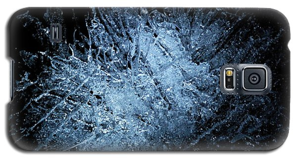 Galaxy S5 Case featuring the photograph jammer Frozen Cosmos by First Star Art