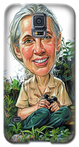 Jane Goodall Galaxy S5 Case by Art