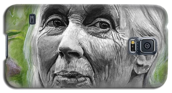 Jane Goodall Galaxy S5 Case
