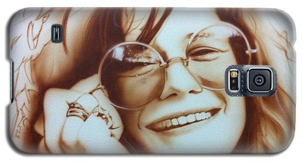 Celebrities Galaxy S5 Case - Janis by Christian Chapman Art