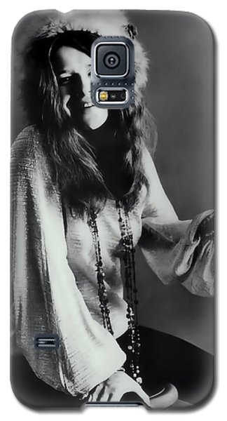 Janis Joplin Galaxy S5 Case by Daniel Hagerman