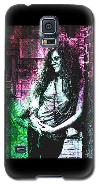Janis Joplin - Pink Galaxy S5 Case