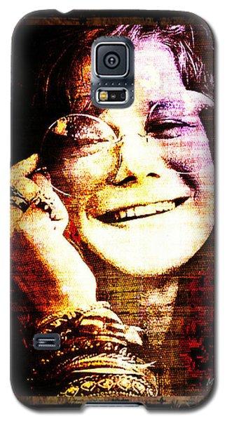 Janis Joplin - Upclose Galaxy S5 Case