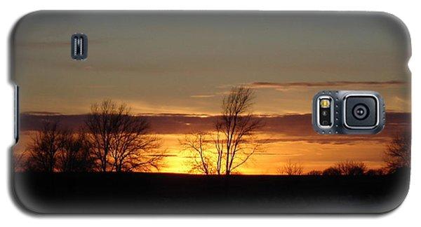 January 13th Sunset Galaxy S5 Case by J L Zarek