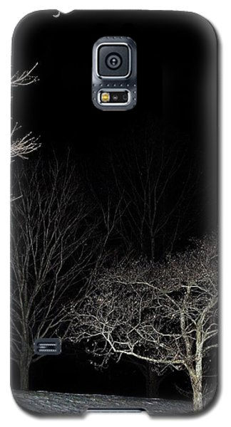 Galaxy S5 Case featuring the photograph January Crescent Moon by Steven Richman