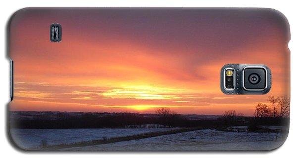 January Sunrise Galaxy S5 Case by J L Zarek